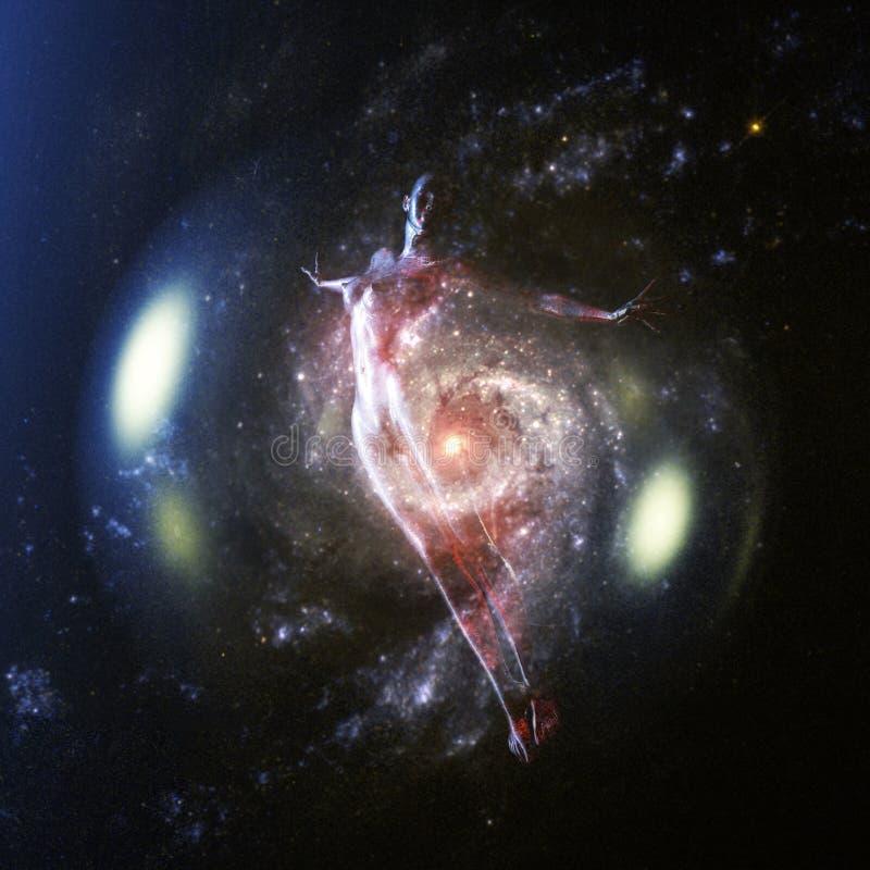 τρισδιάστατη απόδοση ενός θηλυκού - στοιχεία από τη NASA απεικόνιση αποθεμάτων