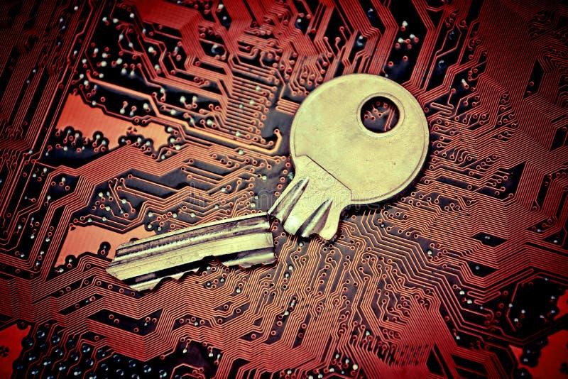 τρισδιάστατη ασφάλεια μηνυτόρων απεικόνισης υπολογιστών στοκ εικόνα με δικαίωμα ελεύθερης χρήσης
