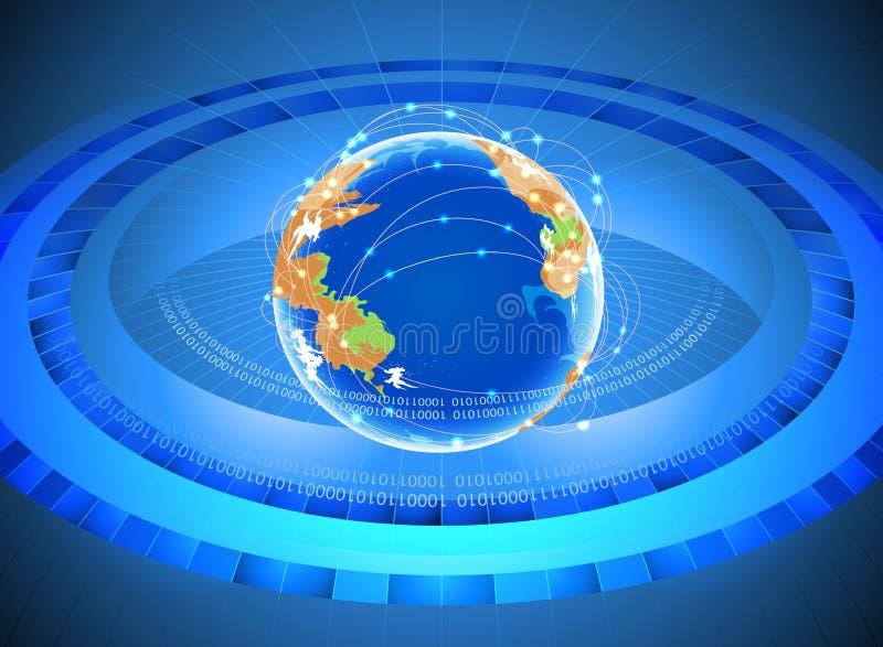 τρισδιάστατη εικόνα δικτύων που καθίσταται κοινωνική ελεύθερη απεικόνιση δικαιώματος