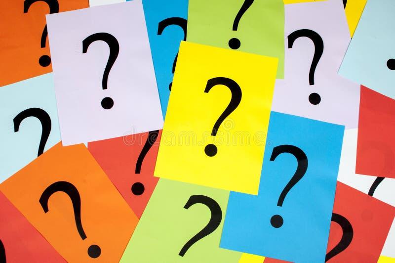 τρισδιάστατη ερώτηση σημαδιών απεικόνισης που δίνεται στοκ φωτογραφία με δικαίωμα ελεύθερης χρήσης