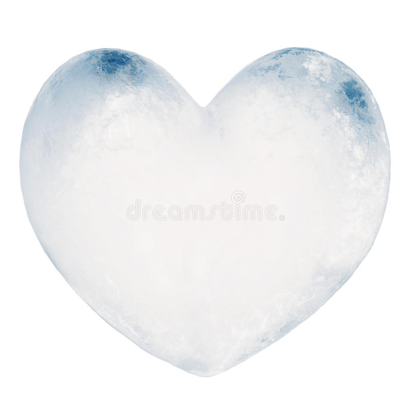 τρισδιάστατη καρδιά πάγου απεικόνισης σε γκρίζο απεικόνιση αποθεμάτων