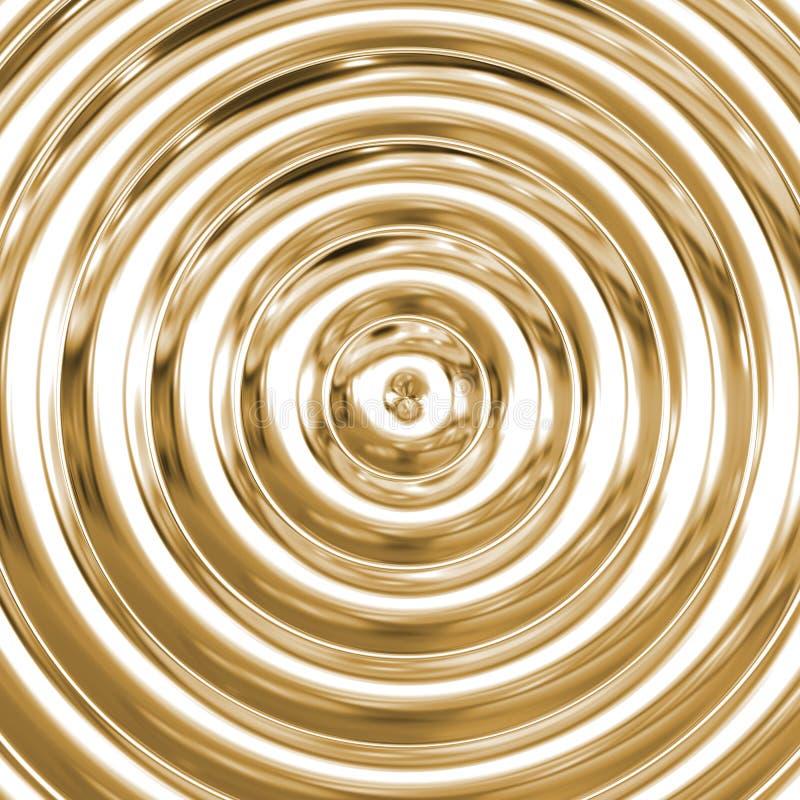 τρισδιάστατη σπείρα καθρεφτών στοκ φωτογραφία