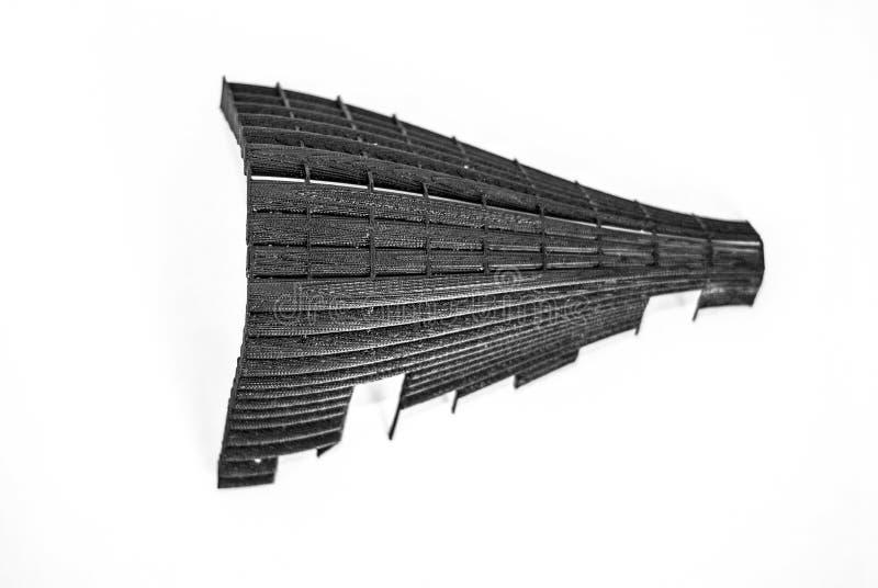 τρισδιάστατη τυπωμένη τοπ άποψη πρωτοτύπων στοκ εικόνα με δικαίωμα ελεύθερης χρήσης