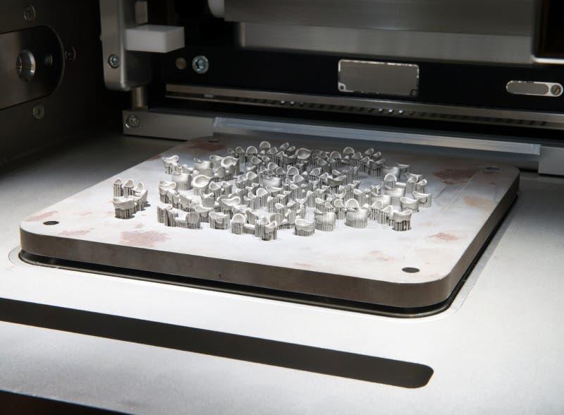 Τρισδιάστατοι εκτυπωτές & x28 μετάλλων DMLS& x29  στοκ φωτογραφία