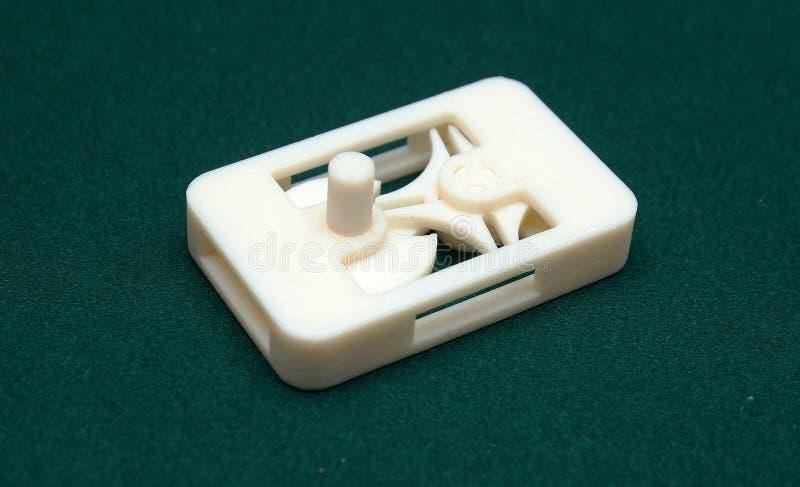 τρισδιάστατος εκτυπωτής - πρότυπο τυπωμένων υλών στοκ φωτογραφίες