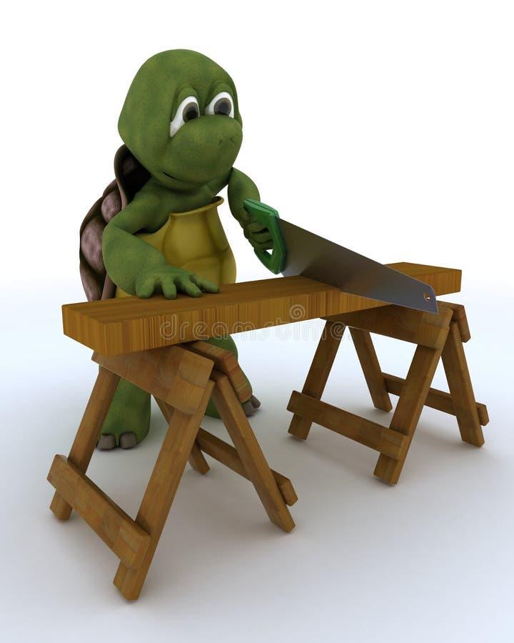 Ανάδοχος ξυλουργών Tortoise απεικόνιση αποθεμάτων