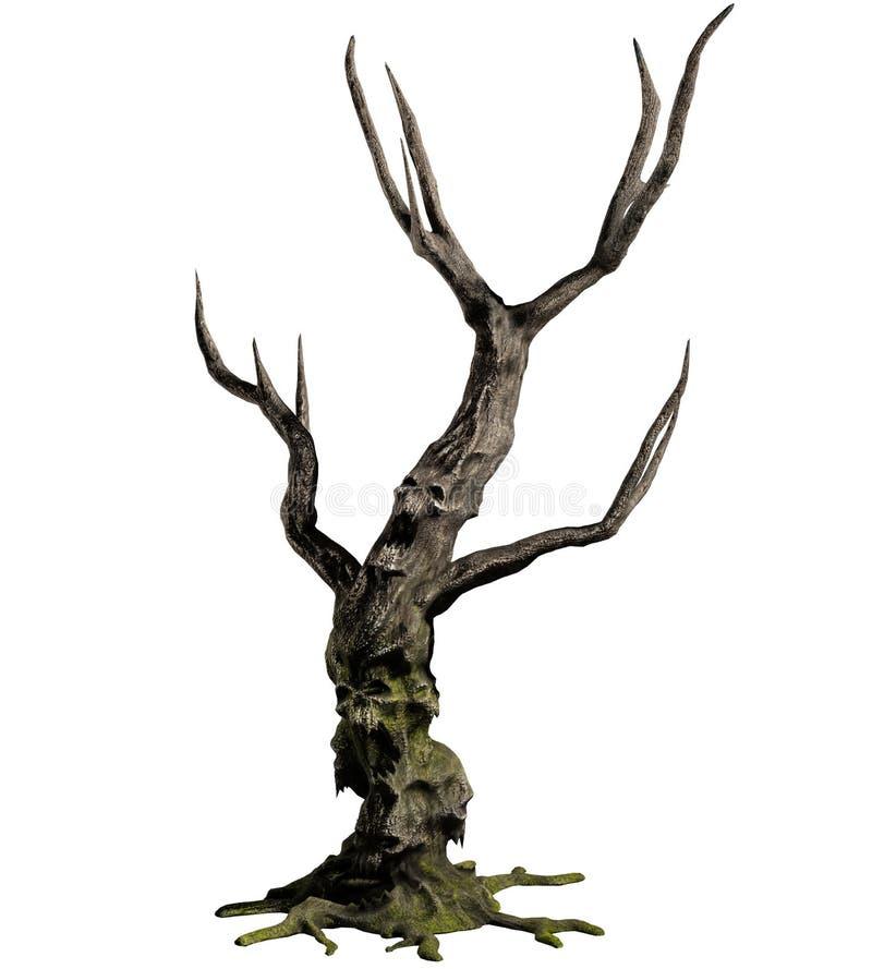 τρισδιάστατο δέντρο δαιμόνων στοκ φωτογραφίες