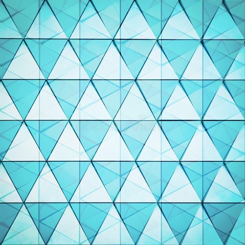 τρισδιάστατο αφηρημένο αρχιτεκτονικό σχέδιο απεικόνισης στοκ εικόνες με δικαίωμα ελεύθερης χρήσης
