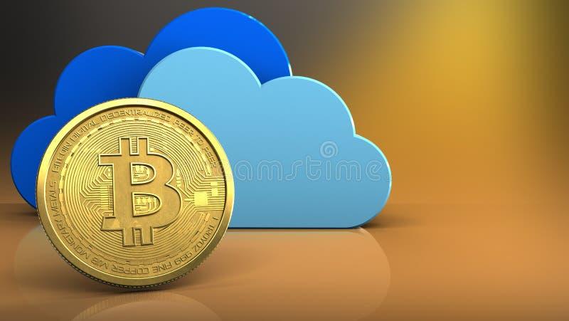 τρισδιάστατο bitcoin ελεύθερη απεικόνιση δικαιώματος