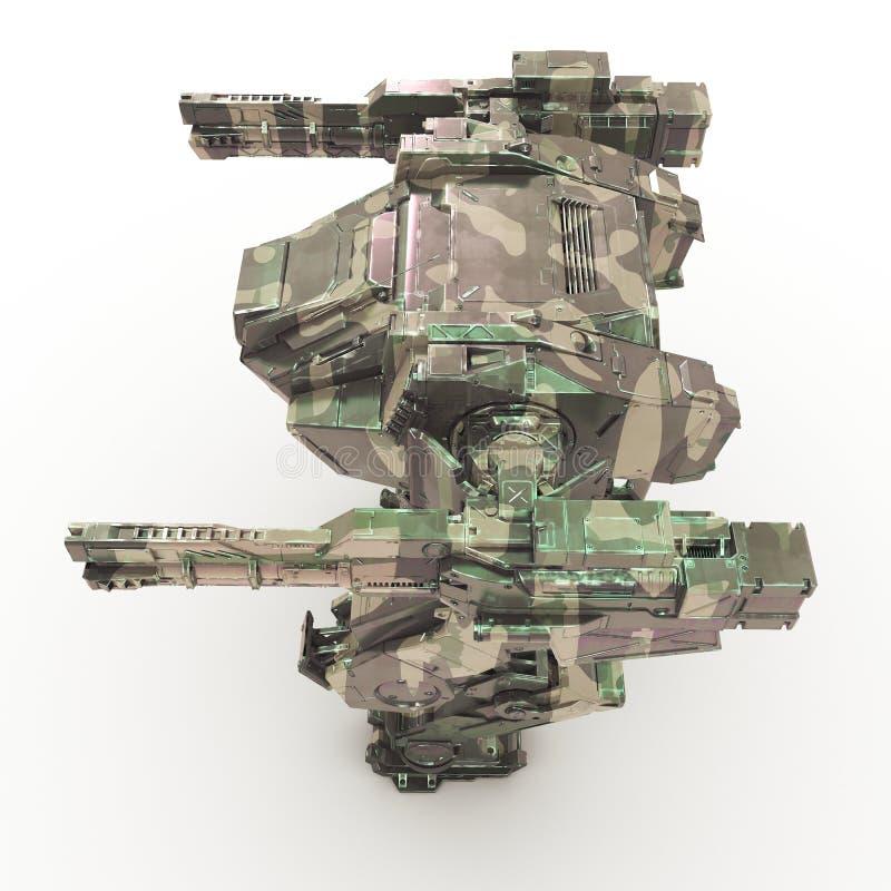τρισδιάστατο mech απομονωμένο υπόβαθρο στοκ εικόνα με δικαίωμα ελεύθερης χρήσης