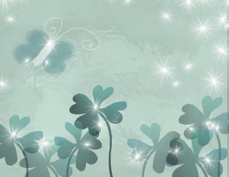 τριφύλλια πεταλούδων ελεύθερη απεικόνιση δικαιώματος