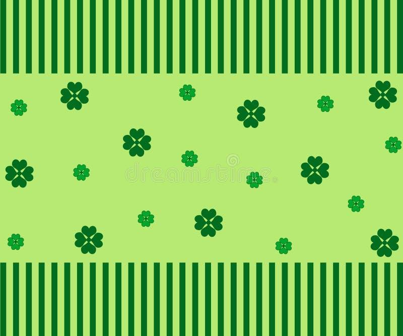 τριφύλλια πράσινα διανυσματική απεικόνιση