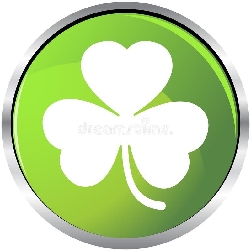 τριφύλλι πράσινο διανυσματική απεικόνιση