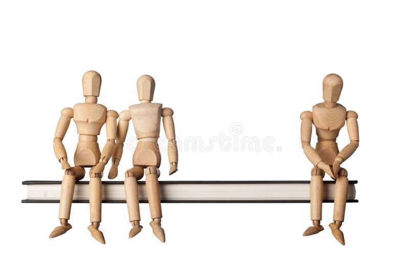 Τριών ατόμων σχέση στοκ φωτογραφία με δικαίωμα ελεύθερης χρήσης