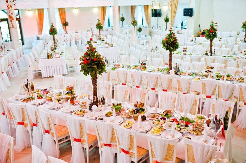 Τρομερή γαμήλια αίθουσα στοκ φωτογραφίες με δικαίωμα ελεύθερης χρήσης