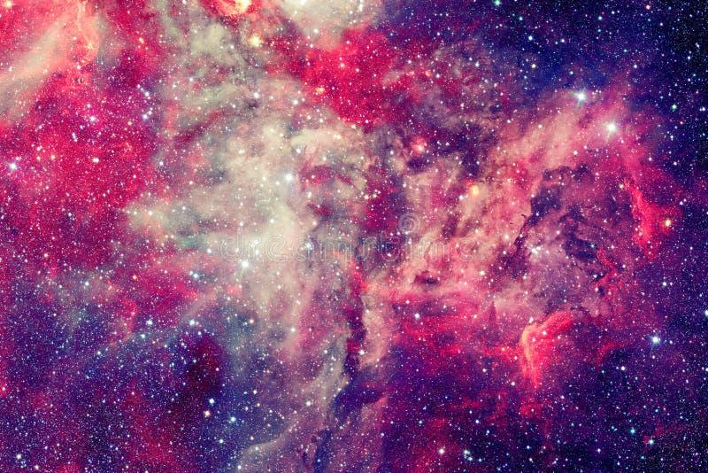 Τρομερό νεφέλωμα με τα αστέρια στο βαθύ διάστημα στοκ φωτογραφίες με δικαίωμα ελεύθερης χρήσης