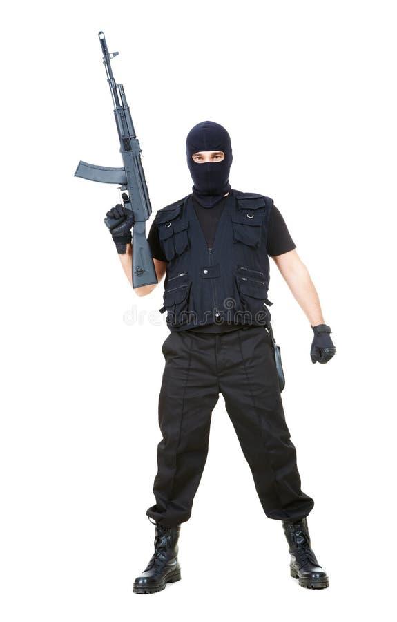 τρομοκράτης στοκ εικόνα με δικαίωμα ελεύθερης χρήσης