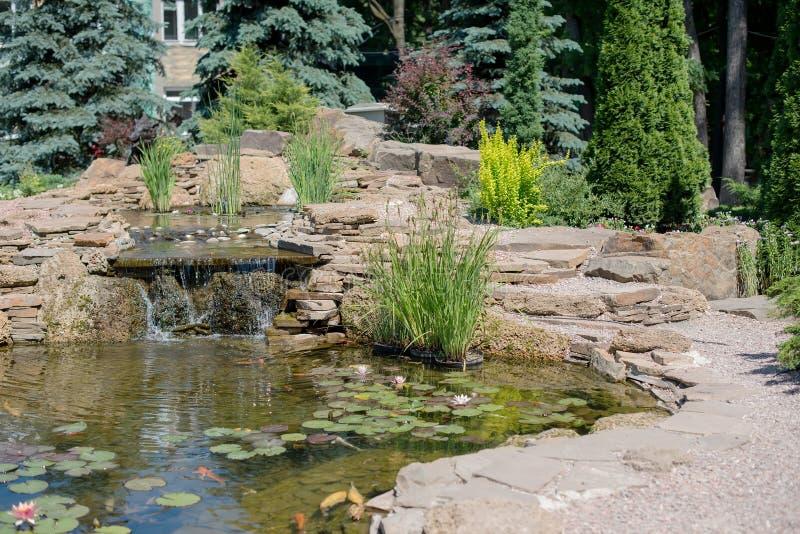 Τροπικός κήπος zen στοκ εικόνα
