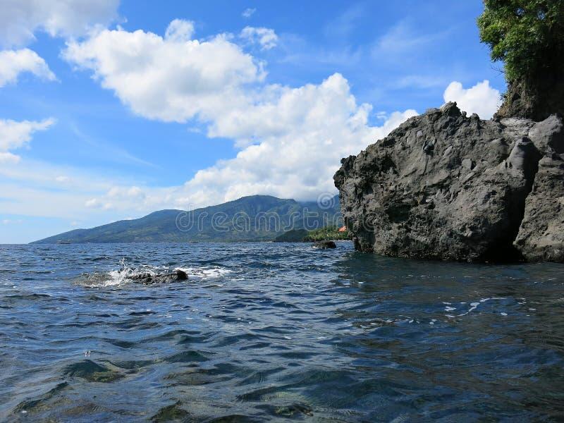 Τροπικός παράδεισος στο νησί του Μπαλί στην Ινδονησία στοκ εικόνα