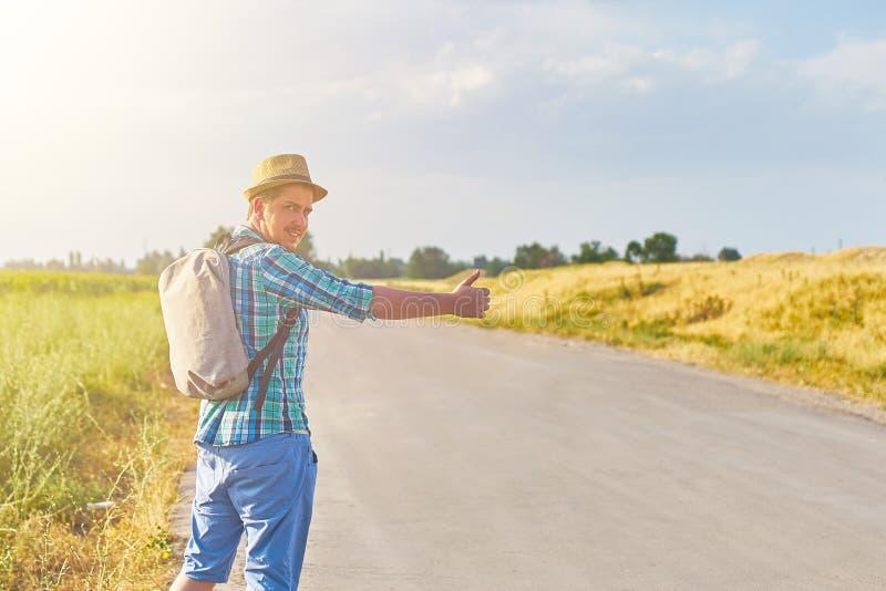 Τροπικός hitchhiker στοκ φωτογραφίες με δικαίωμα ελεύθερης χρήσης
