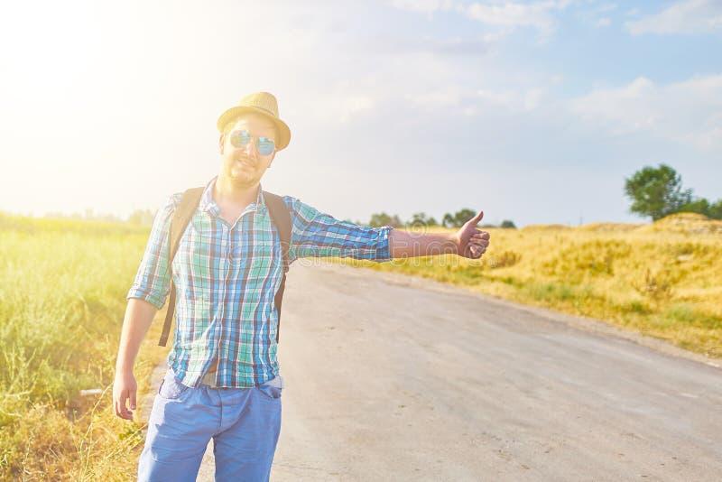 Τροπικός hitchhiker στοκ εικόνες με δικαίωμα ελεύθερης χρήσης