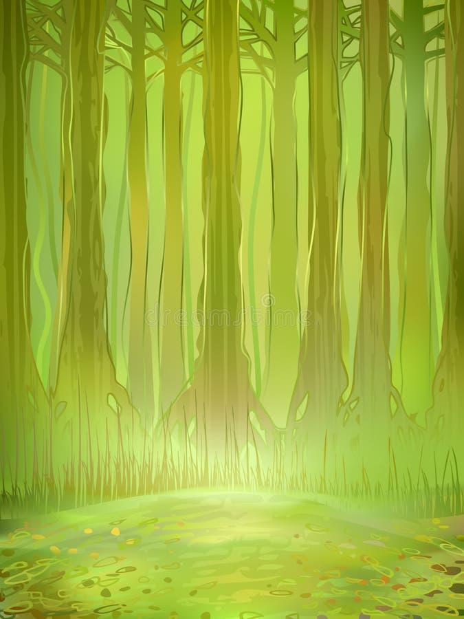 τροπικό δάσος τροπικό ελεύθερη απεικόνιση δικαιώματος