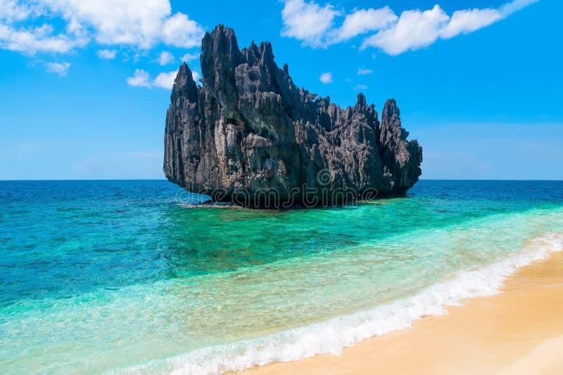 Τροπικό εξωτικό τοπίο παραλιών νησιών παραδείσου στοκ φωτογραφία
