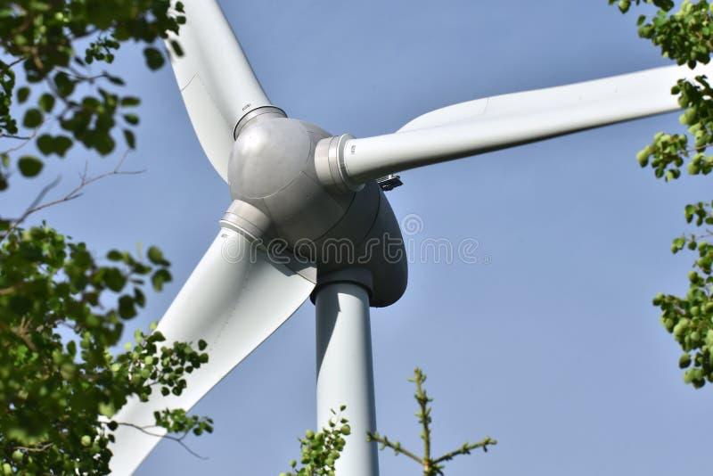 Τροφοδοτημένη αέρας γεννήτρια τουρμπίνας στοκ εικόνα με δικαίωμα ελεύθερης χρήσης