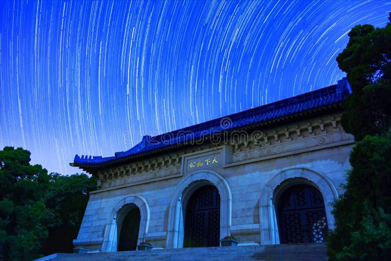 Τροχιά αστεριών στοκ εικόνα με δικαίωμα ελεύθερης χρήσης