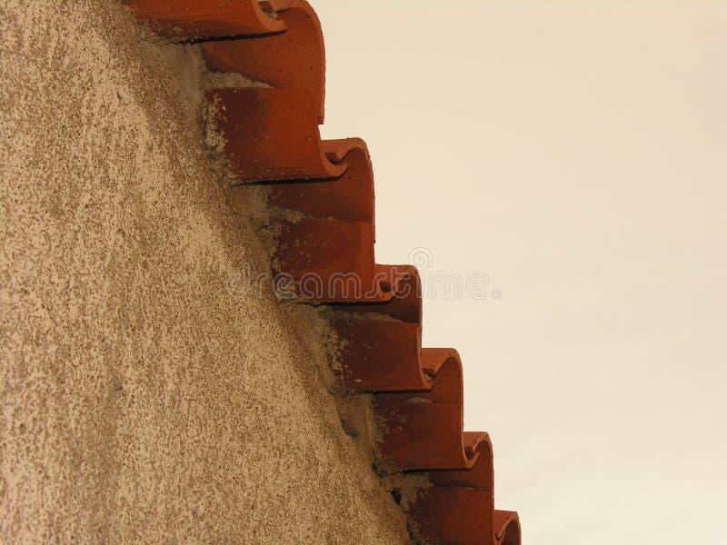 Τροχιά μιας στέγης στοκ φωτογραφία με δικαίωμα ελεύθερης χρήσης