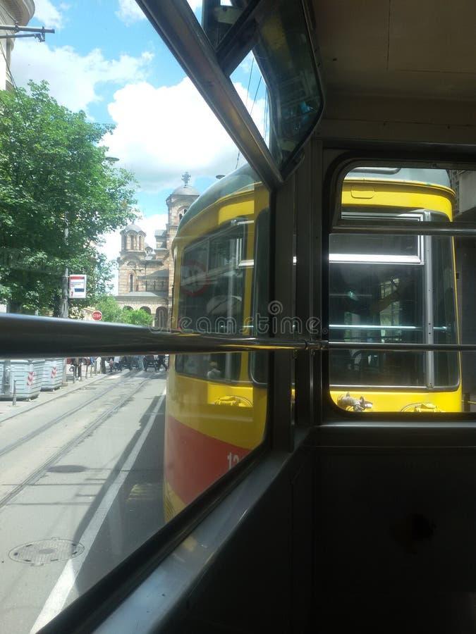 Τροχιοδρομική γραμμή στοκ φωτογραφία με δικαίωμα ελεύθερης χρήσης