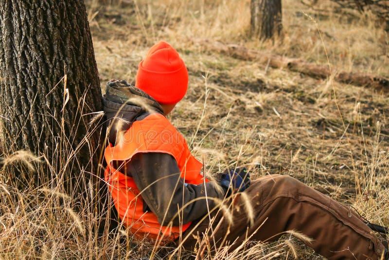 Τρυπημένος κυνηγός στοκ εικόνες με δικαίωμα ελεύθερης χρήσης