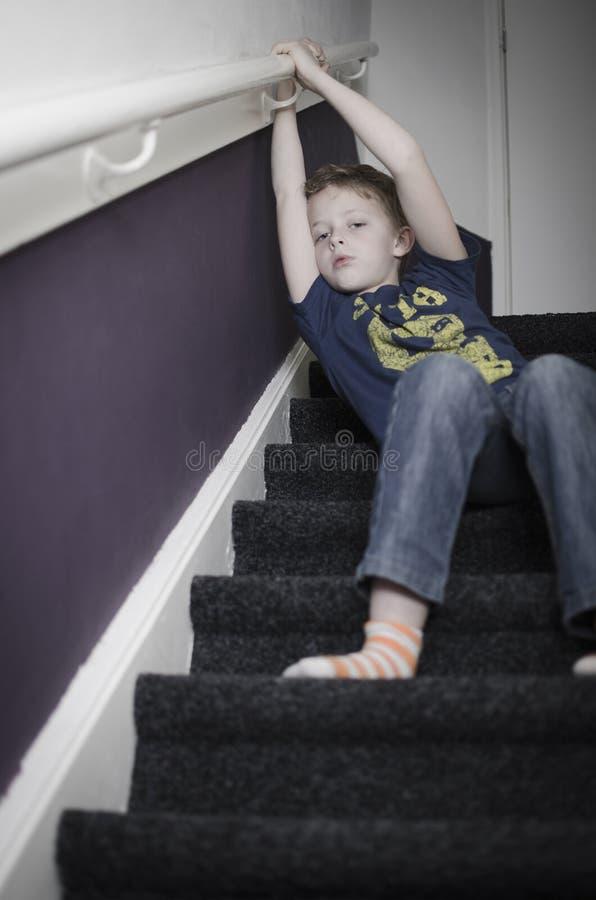 Τρυπημένο παιδάκι στοκ εικόνα με δικαίωμα ελεύθερης χρήσης