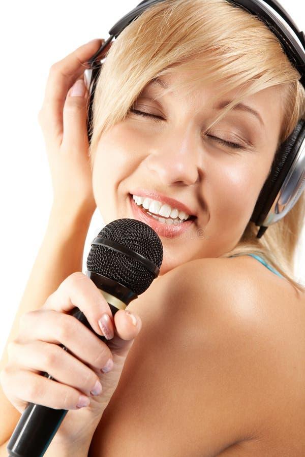 τρυφερό karaoke στοκ εικόνες με δικαίωμα ελεύθερης χρήσης