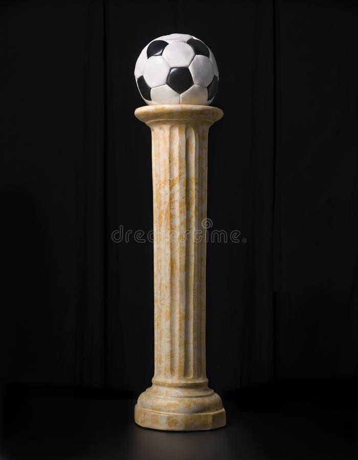 Τρόπαιο ποδοσφαίρου στοκ εικόνες με δικαίωμα ελεύθερης χρήσης