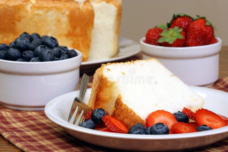 τρόφιμα αγγέλου στοκ φωτογραφίες