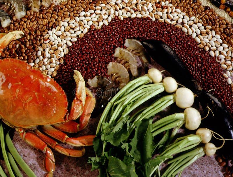 τρόφιμα Ασιάτης Στοκ Φωτογραφία