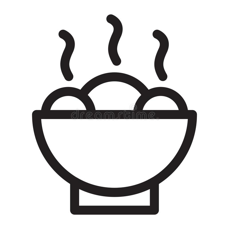 τρόφιμα θερμά ελεύθερη απεικόνιση δικαιώματος