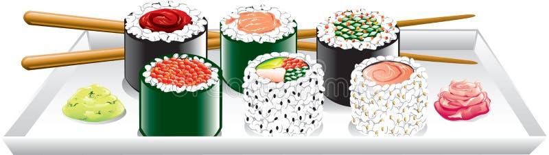 τρόφιμα ιαπωνικά ελεύθερη απεικόνιση δικαιώματος