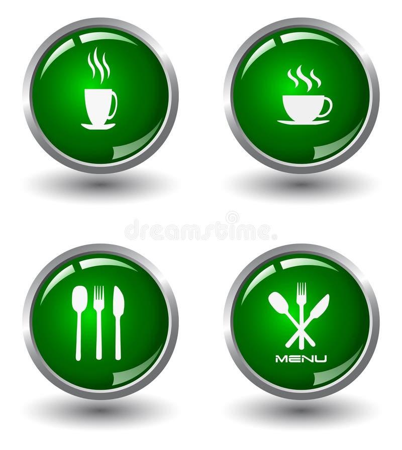 Download τρόφιμα κουμπιών διανυσματική απεικόνιση. εικονογραφία από γιορτάστε - 13175738