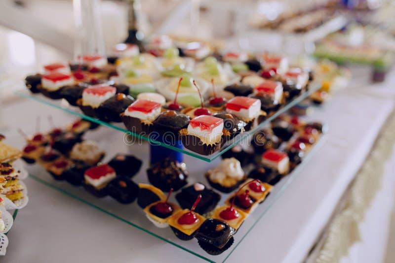 Τρόφιμα ντεκόρ δεξίωσης γάμου στοκ φωτογραφία με δικαίωμα ελεύθερης χρήσης