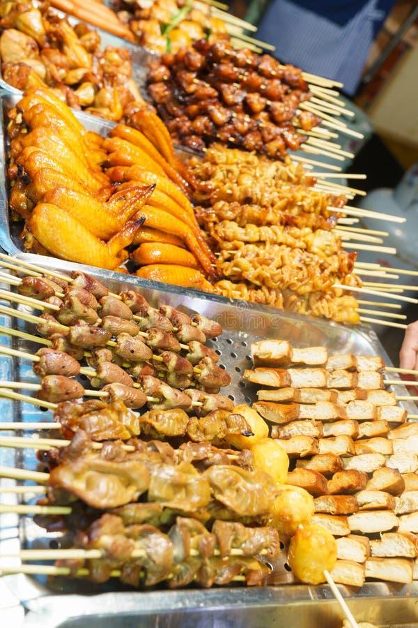 Τρόφιμα οδών στην Ασία στοκ εικόνα