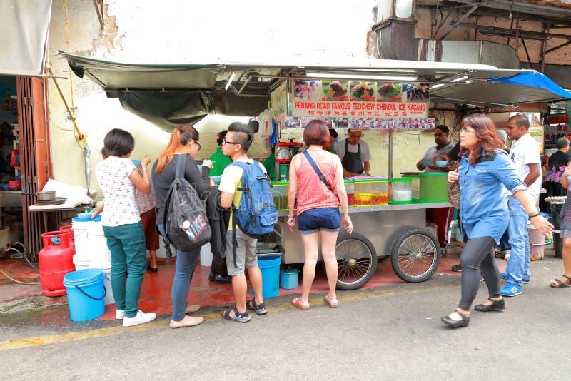 Τρόφιμα οδών στη Μαλαισία Penang στοκ φωτογραφίες με δικαίωμα ελεύθερης χρήσης