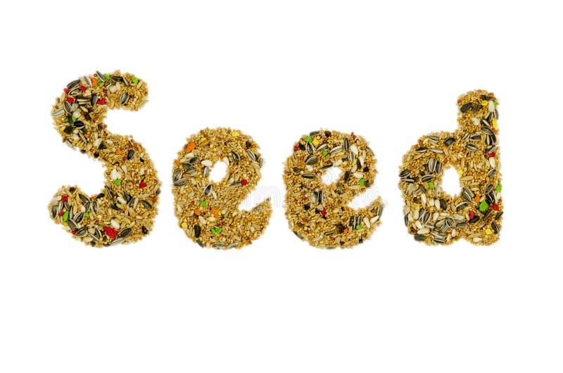 Τρόφιμα πουλιών στοκ φωτογραφία με δικαίωμα ελεύθερης χρήσης