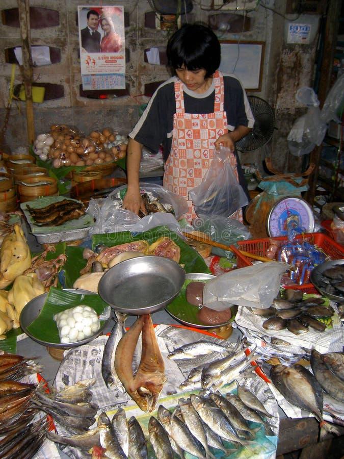 τρόφιμα που πωλούν την ταϊλ&a στοκ εικόνες