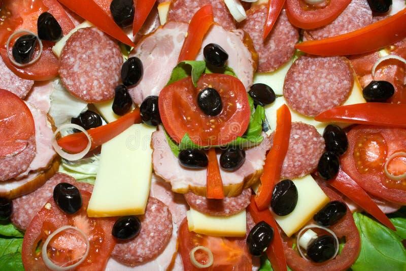 τρόφιμα που τεμαχίζονται στοκ φωτογραφία με δικαίωμα ελεύθερης χρήσης