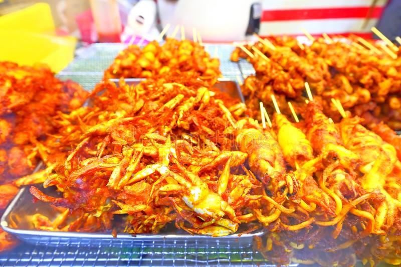 τρόφιμα που τηγανίζονται στοκ εικόνες με δικαίωμα ελεύθερης χρήσης