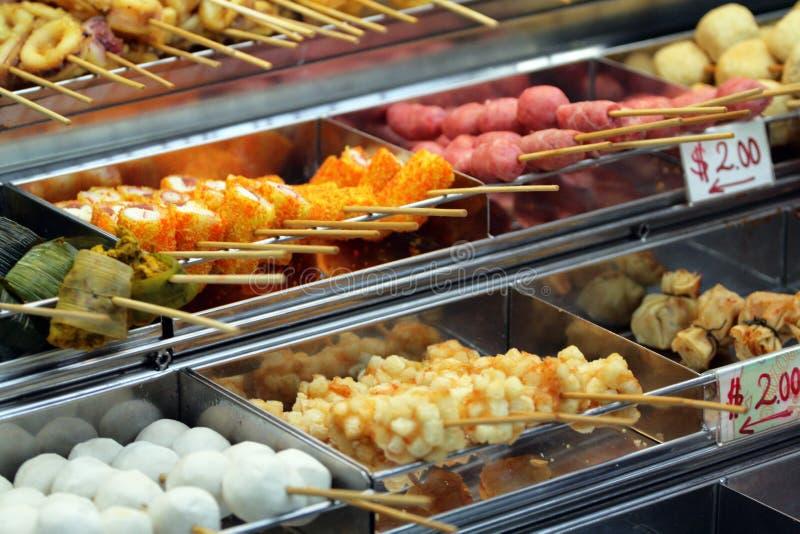 Τρόφιμα πωλητών σε Penang Μαλαισία στοκ εικόνα