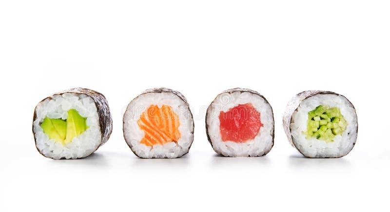 Τρόφιμα σουσιών της Maki στοκ εικόνα