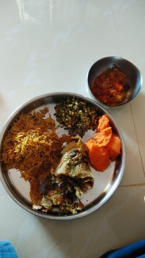 Τρόφιμα της Ινδίας στοκ εικόνες